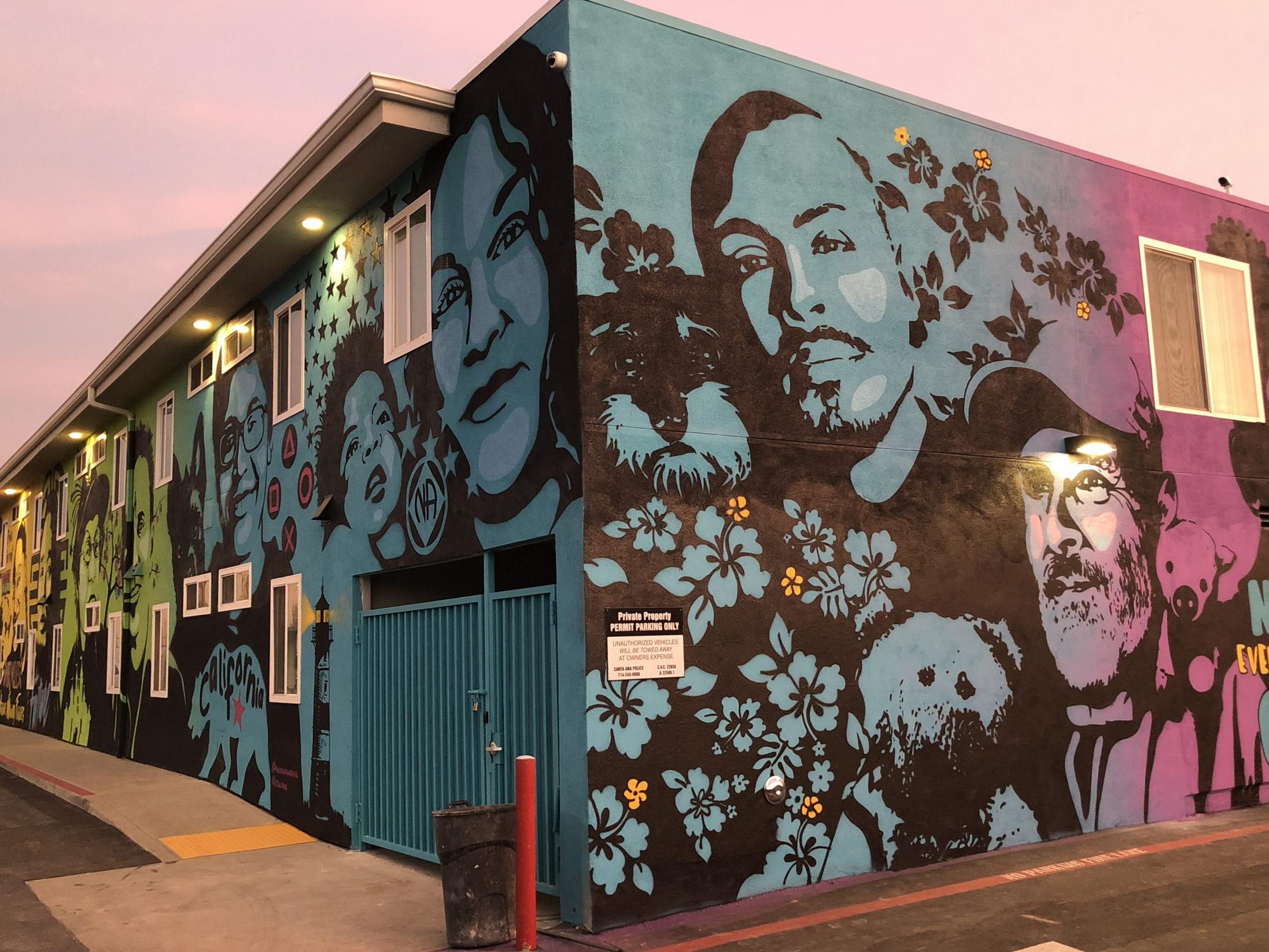 """""""What Solves Homelessness"""" Mural"""